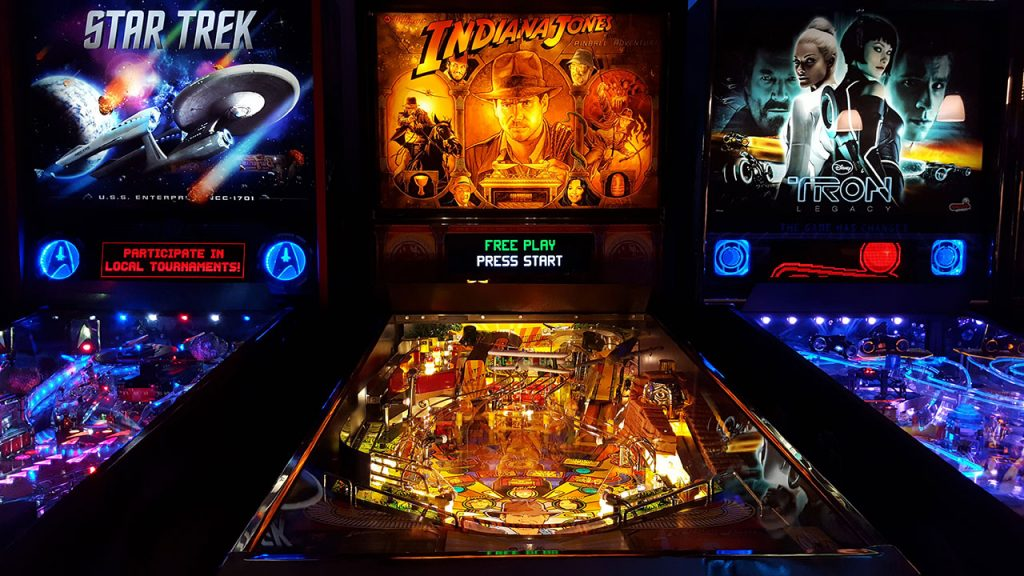 Indiana Jones Pinball Adventure pinball machine.