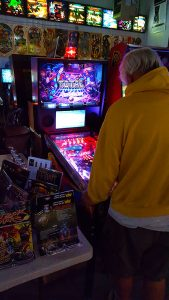 10-21-18: October Knockout Tournament, Brian Leuthner playing Total Nuclear Annihilation pinball in the final round.