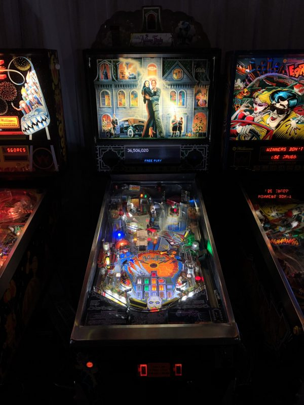 The Addams Family Pinball Machine in Green Bay, WI