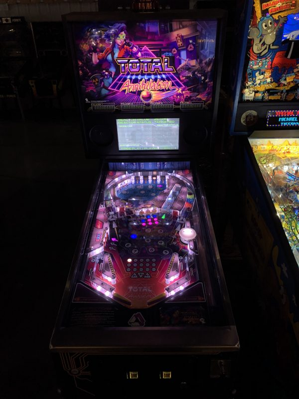 Total Nuclear Annihilation Pinball Machine in Green Bay, WI