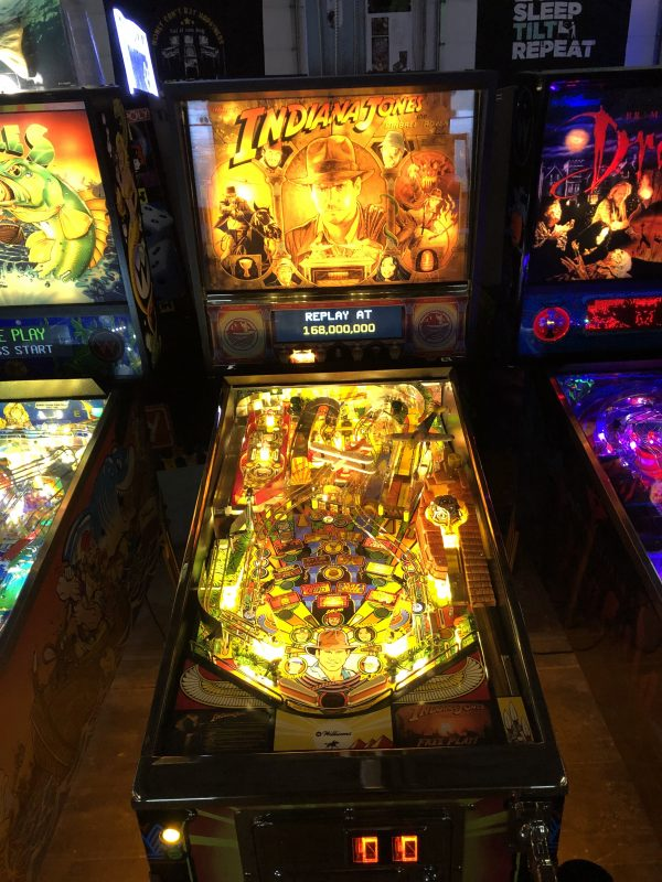 Indiana Jones Pinball Machine in Green Bay, WI