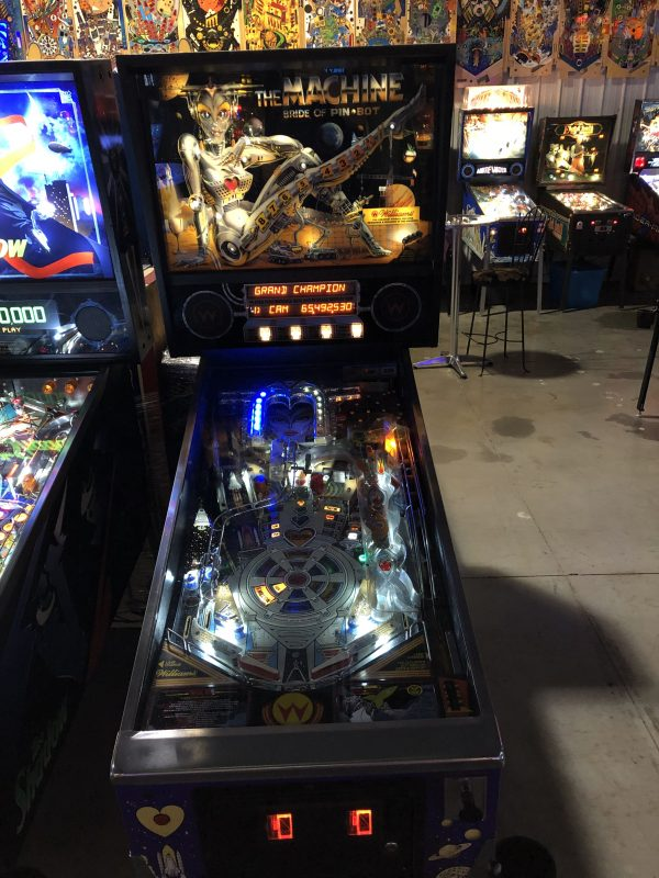 The Machine Bride of Pinbot Pinball Machine in Green Bay, WI