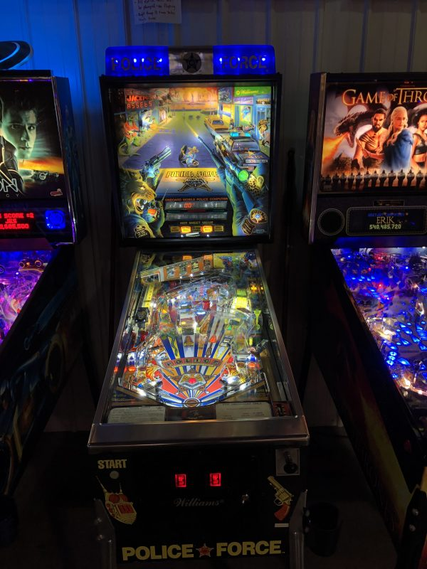Police Force Pinball Machine in Green Bay, WI