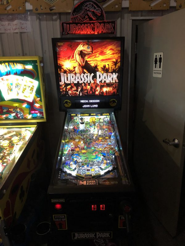Jurassic Park Pinball Machine in Green Bay, WI