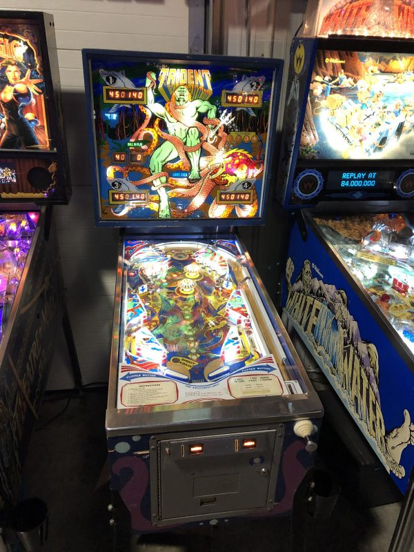 Trident Pinball Machine in Green Bay, WI