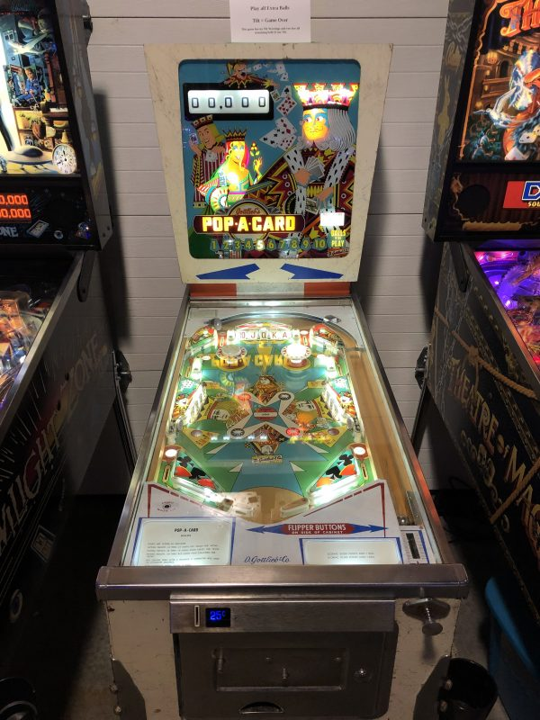 Pop a Card Pinball Machine in Green Bay, WI
