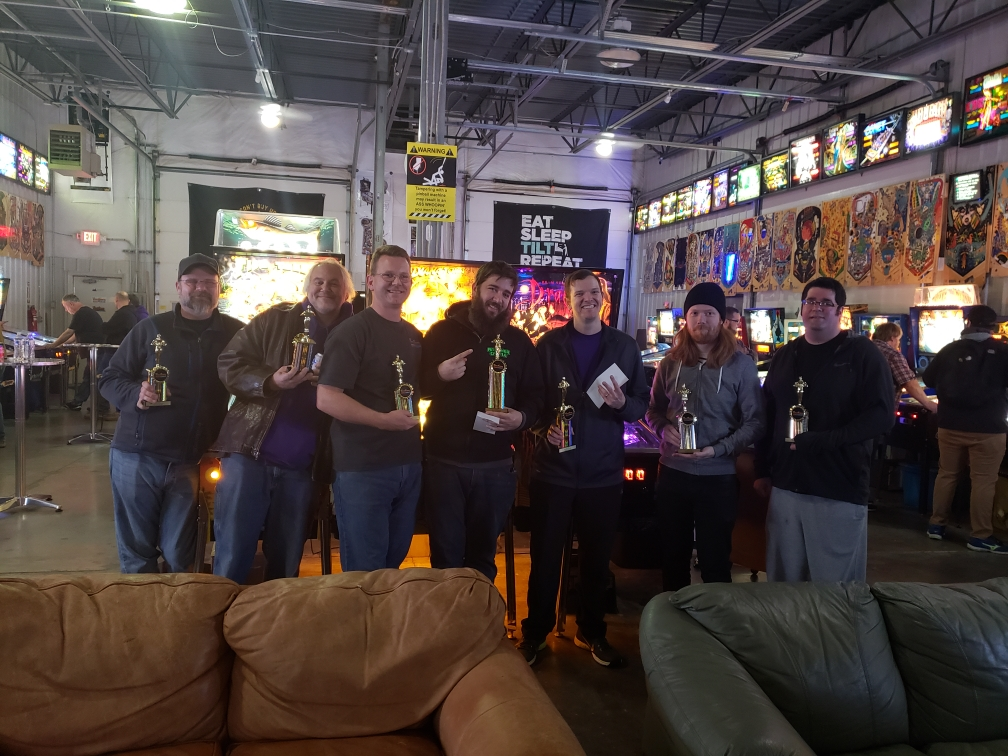 2018 Nov Match Play Pinball Tournament in Green Bay, WI