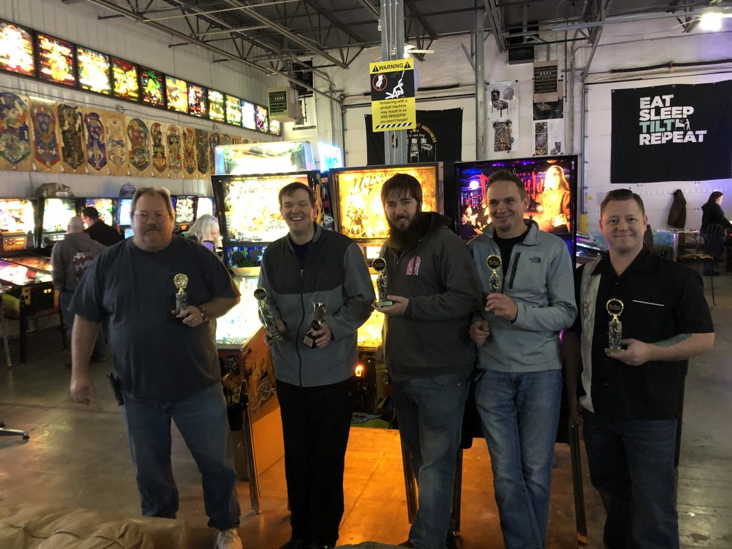 2018 December Knockout Pinball Tournament in Green Bay, WI