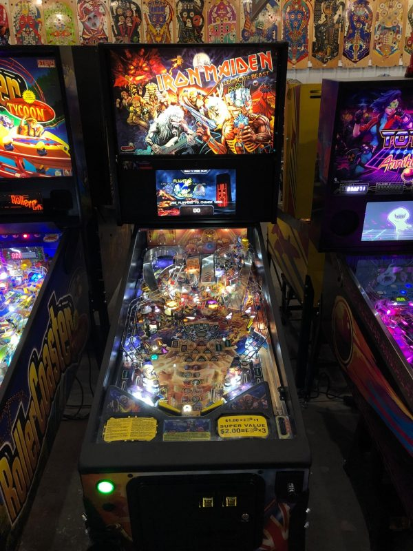 Iron Maiden Pinball Machine in Green Bay, WI