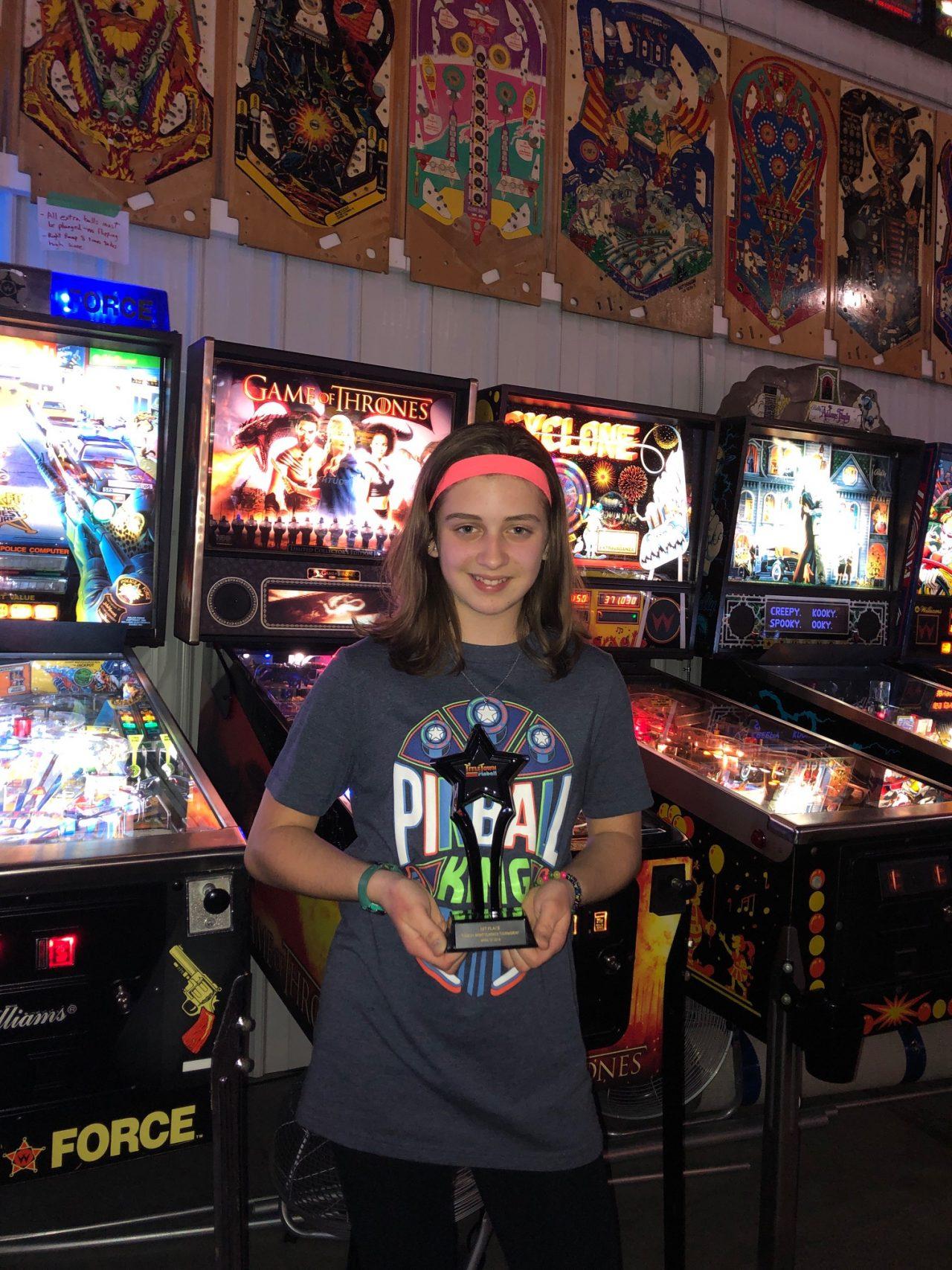 1st Place Pinball Tournament