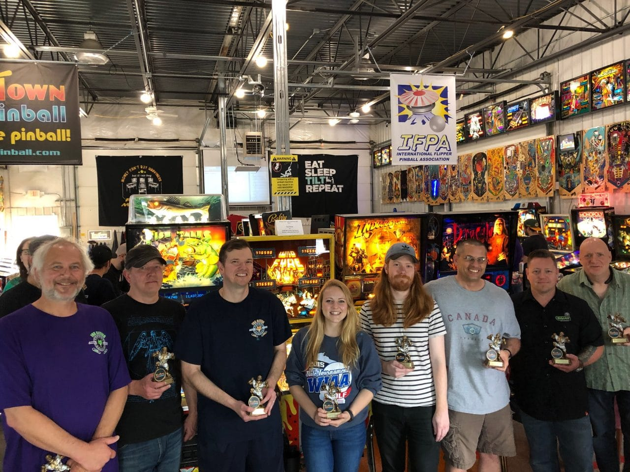 2019 Flipper Frenzy Pinball Tournament in Green Bay, WI