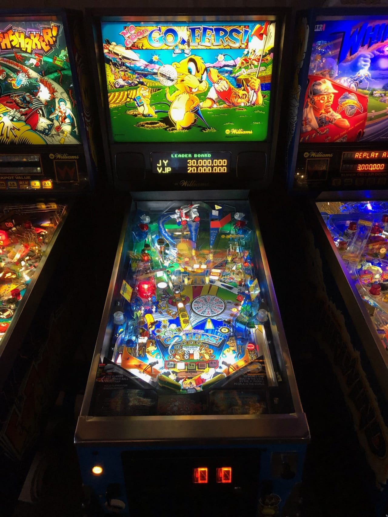 No Good Gophers Pinball Machine in Green Bay, WI