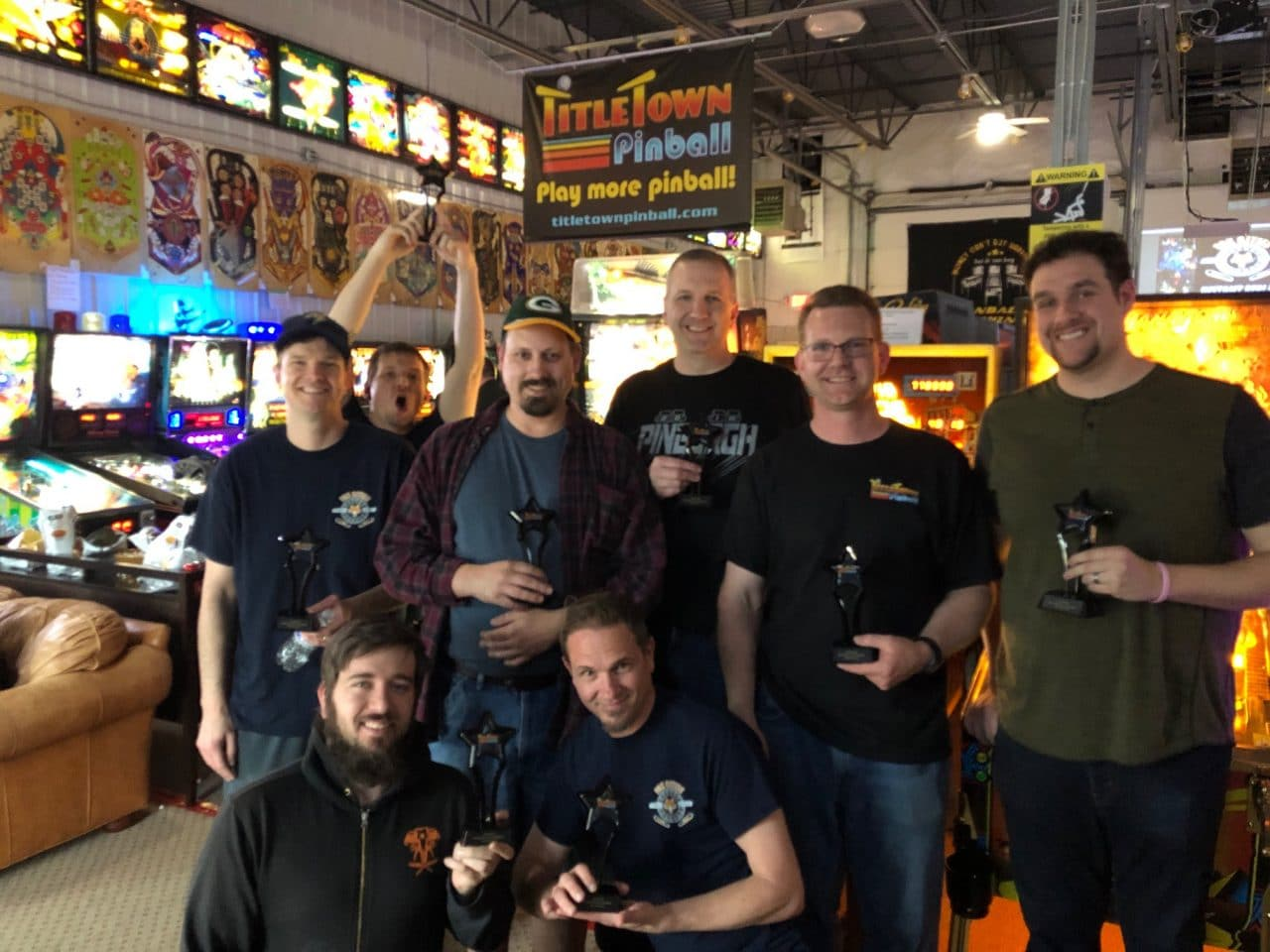 2019 May Match Play Pinball Tournament in Green Bay, WI