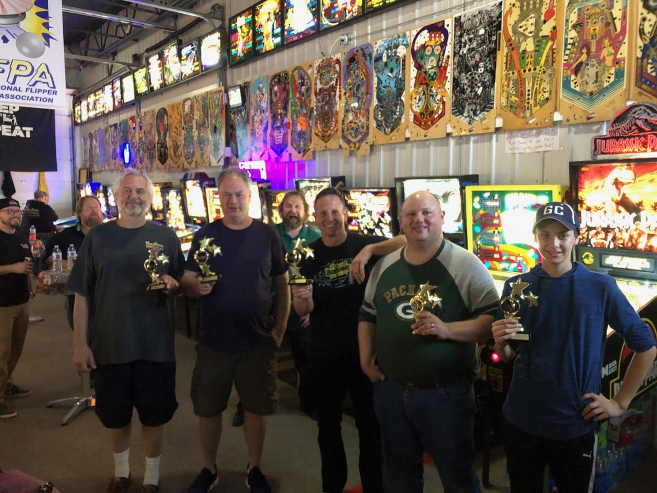 2019 May Pinball League Top Players