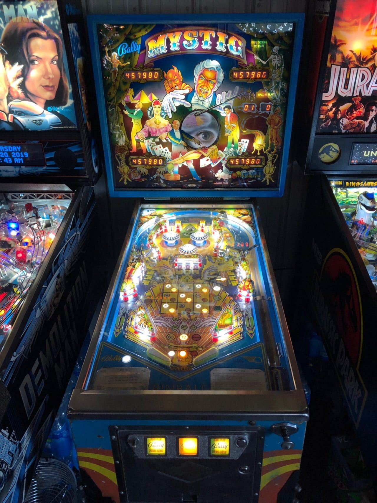 Mystic Pinball Machine in Green Bay, WI