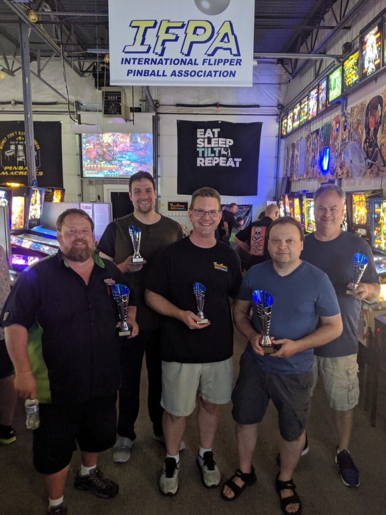 2019 Summer Classics Pinball Tournament in Green Bay, WI