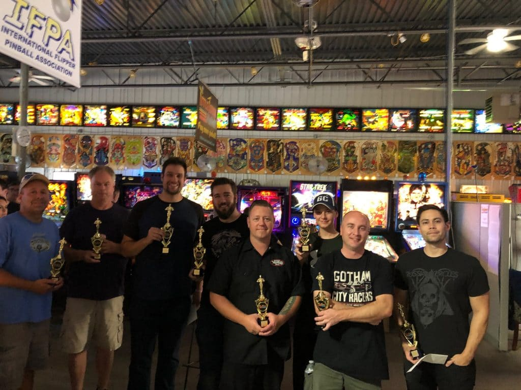 2019 Summer 2X Match Play Pinball Tournament in Green Bay, WI