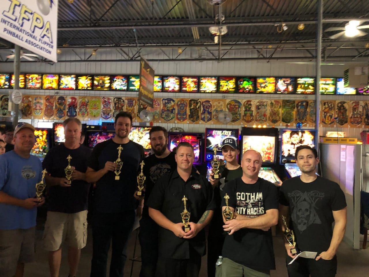 2019 Summer 2X Match Play Pinball Tournament in Green Bay, WI