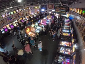 Playing Location Pinball Machines in Green Bay, WI