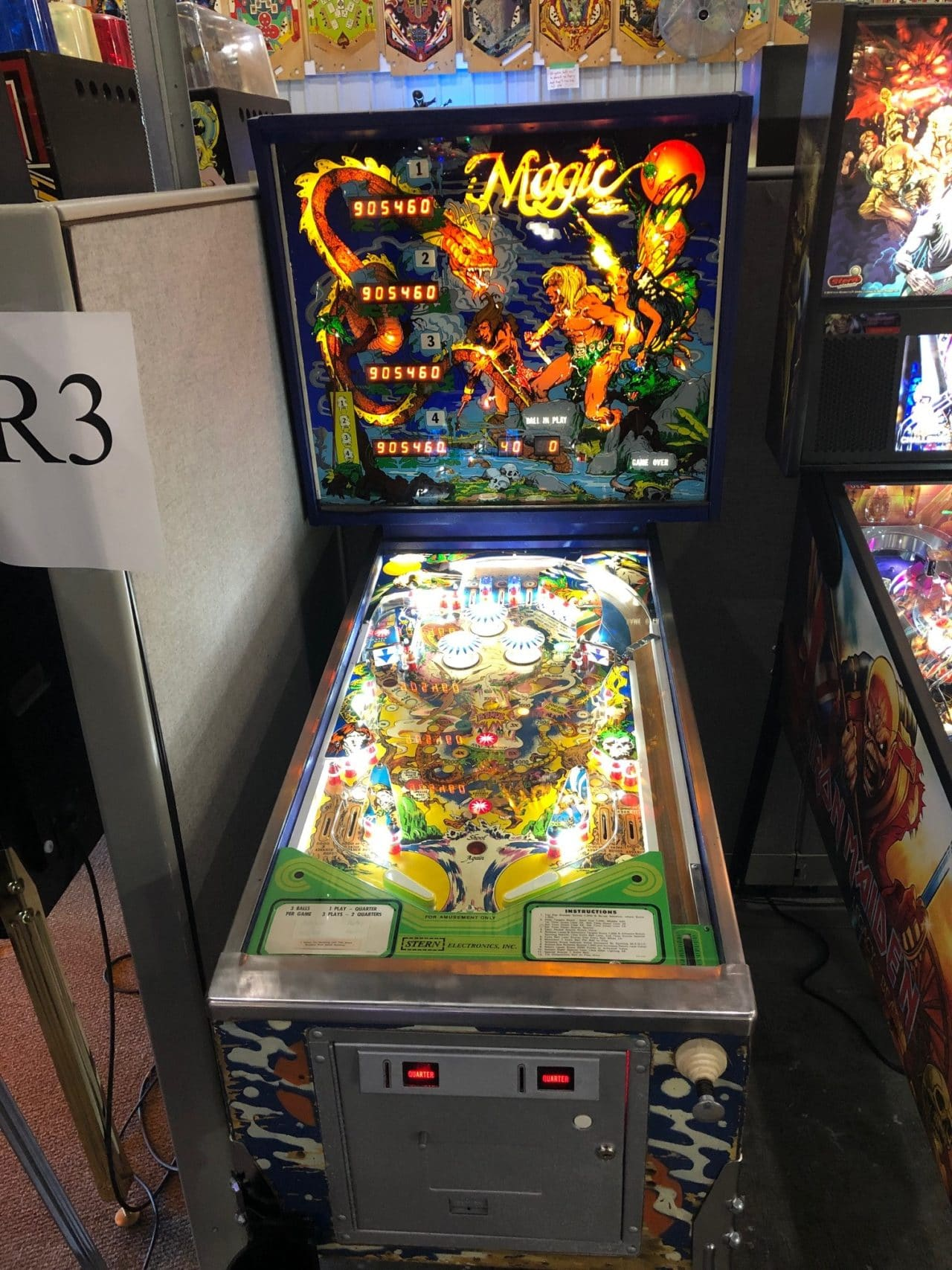 Magic Pinball Machine in Green Bay, WI