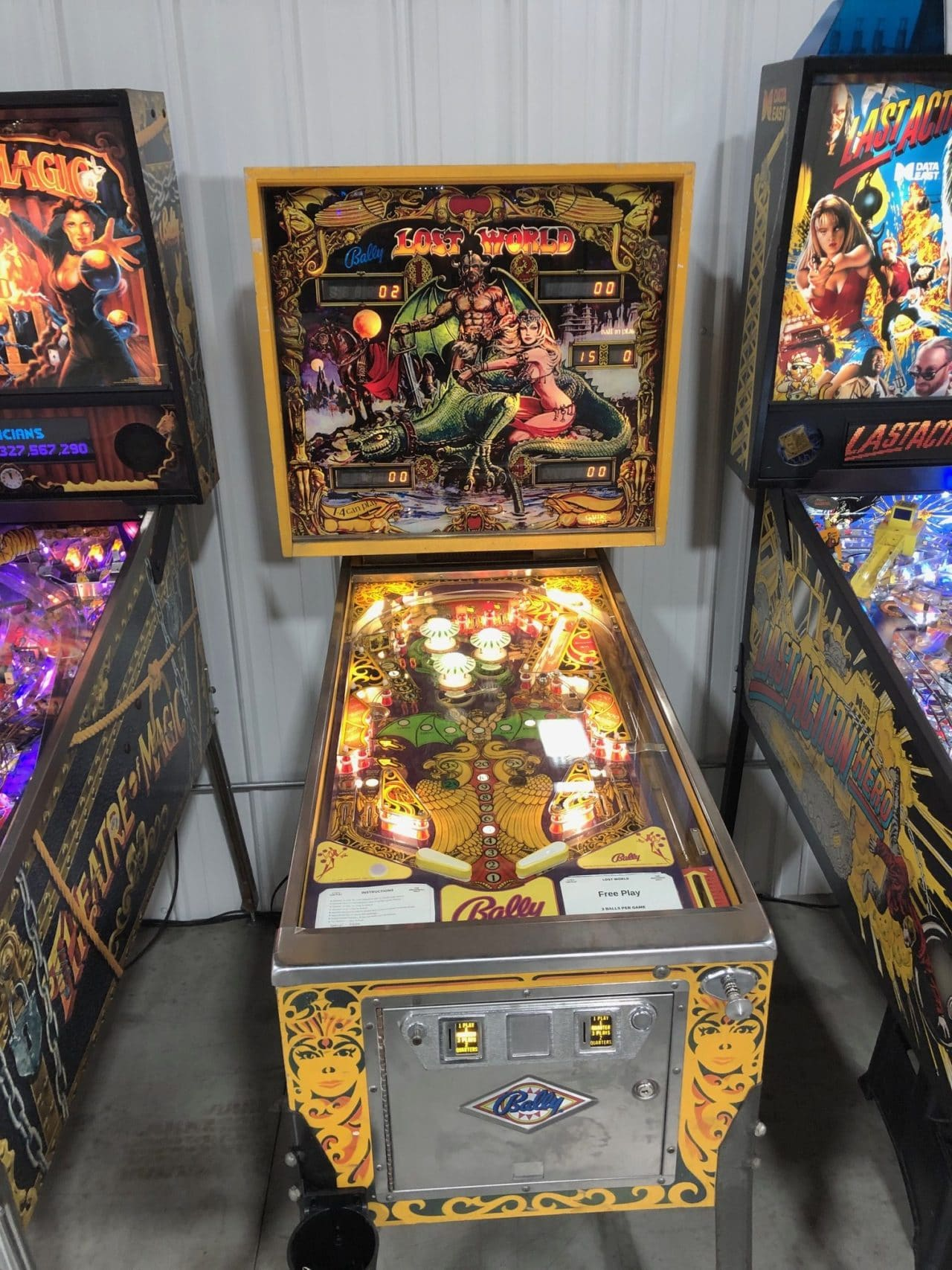 Lost World Pinball Machine in Green Bay, WI