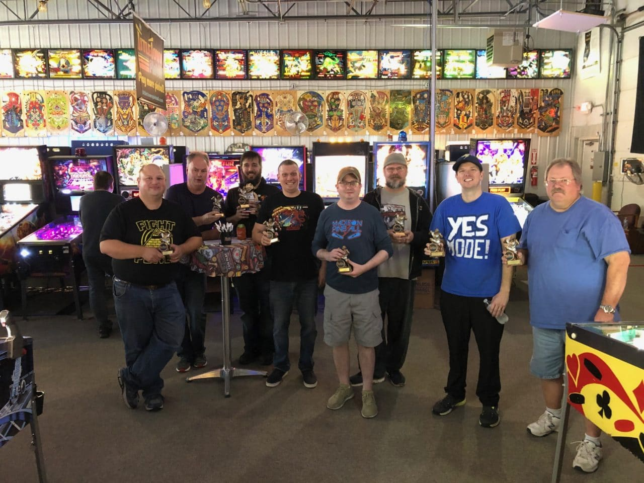 Fall Flipper Frenzy Pinball Tournament 2019 in Green Bay, WI