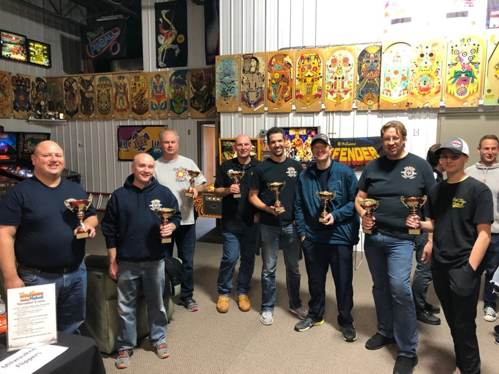 Fox Cities Pinball 2019 Wisconsin Pinball League State Championship in Green Bay, WI