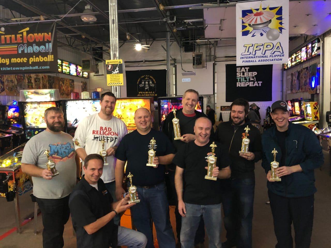 November 2019 Match Play Pinball Tournament in Green Bay, WI