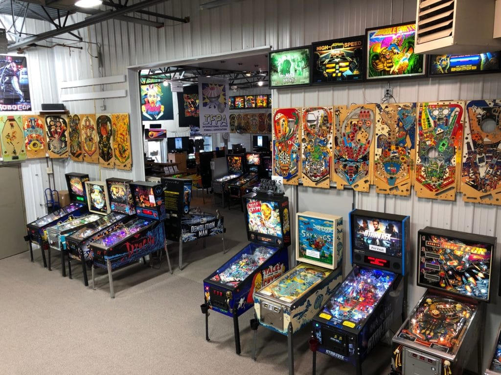 Largest Pinball Arcade Midwest