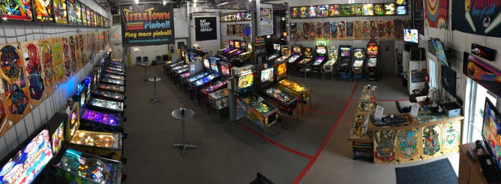 Largest Pinball Arcade in the Midwest