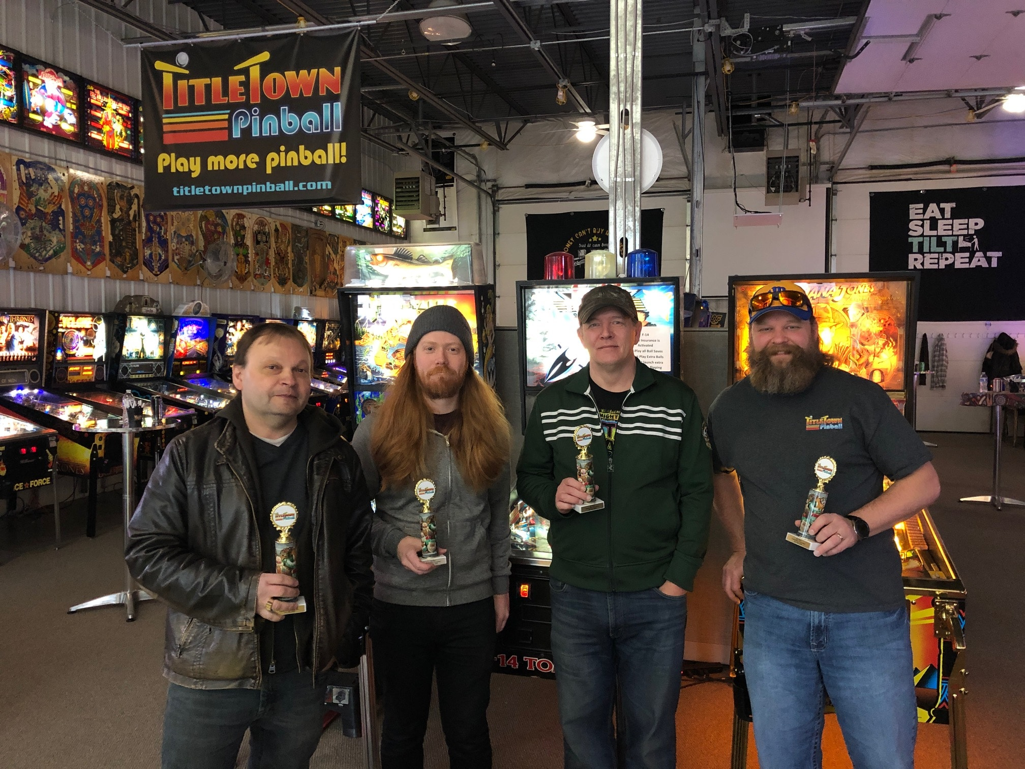 Pinball Tournament Top 4 Green bay, WI