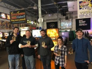 2020 Winter Classics Pinball Tournament Green Bay, WI.