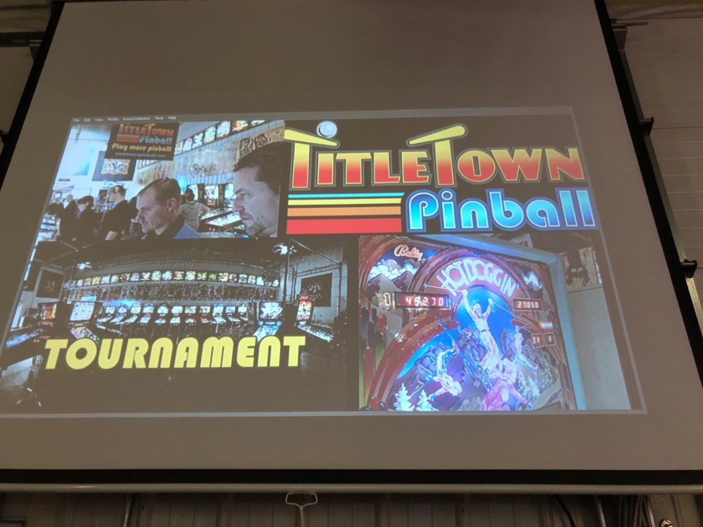 Side Tournament January Pinball League Green Bay, WI.