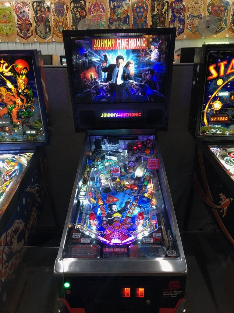 Johnny Mnemonic Pinball Machine Green Bay, WI.