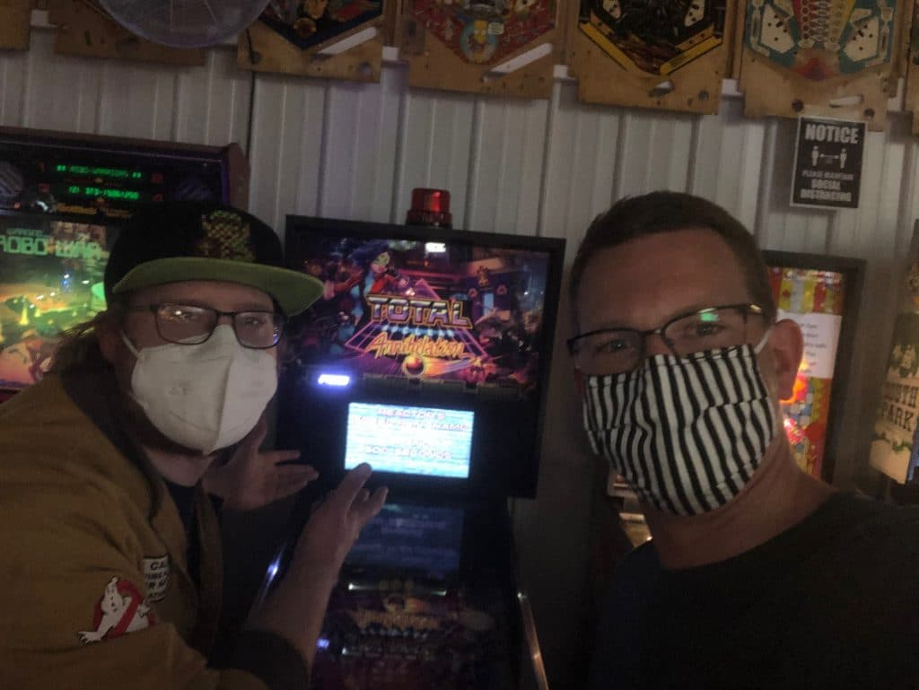 August Pinball League Tiebreaker for the win Green Bay, WI