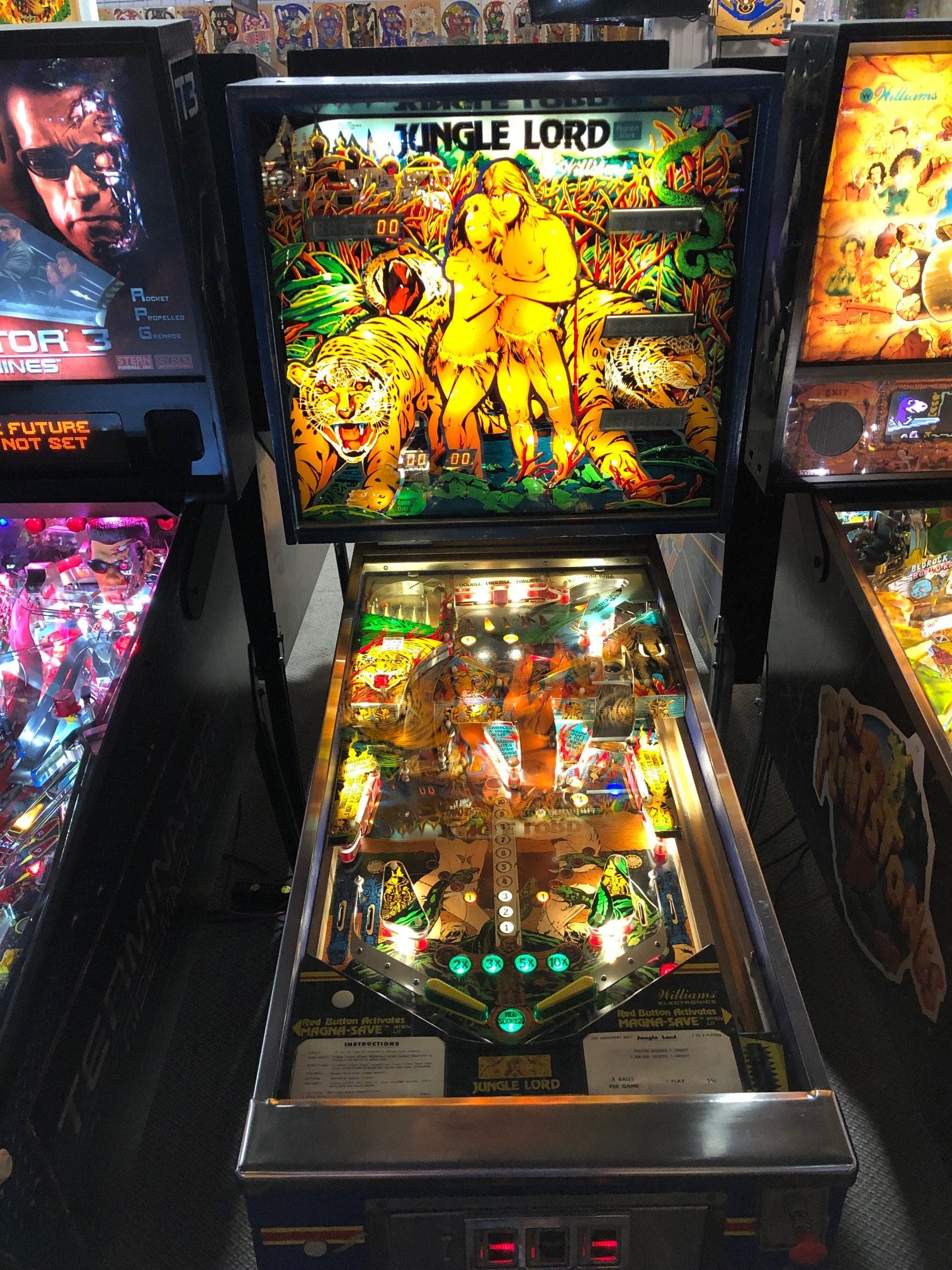 Jungle Lord Pinball Machine Green Bay, WI