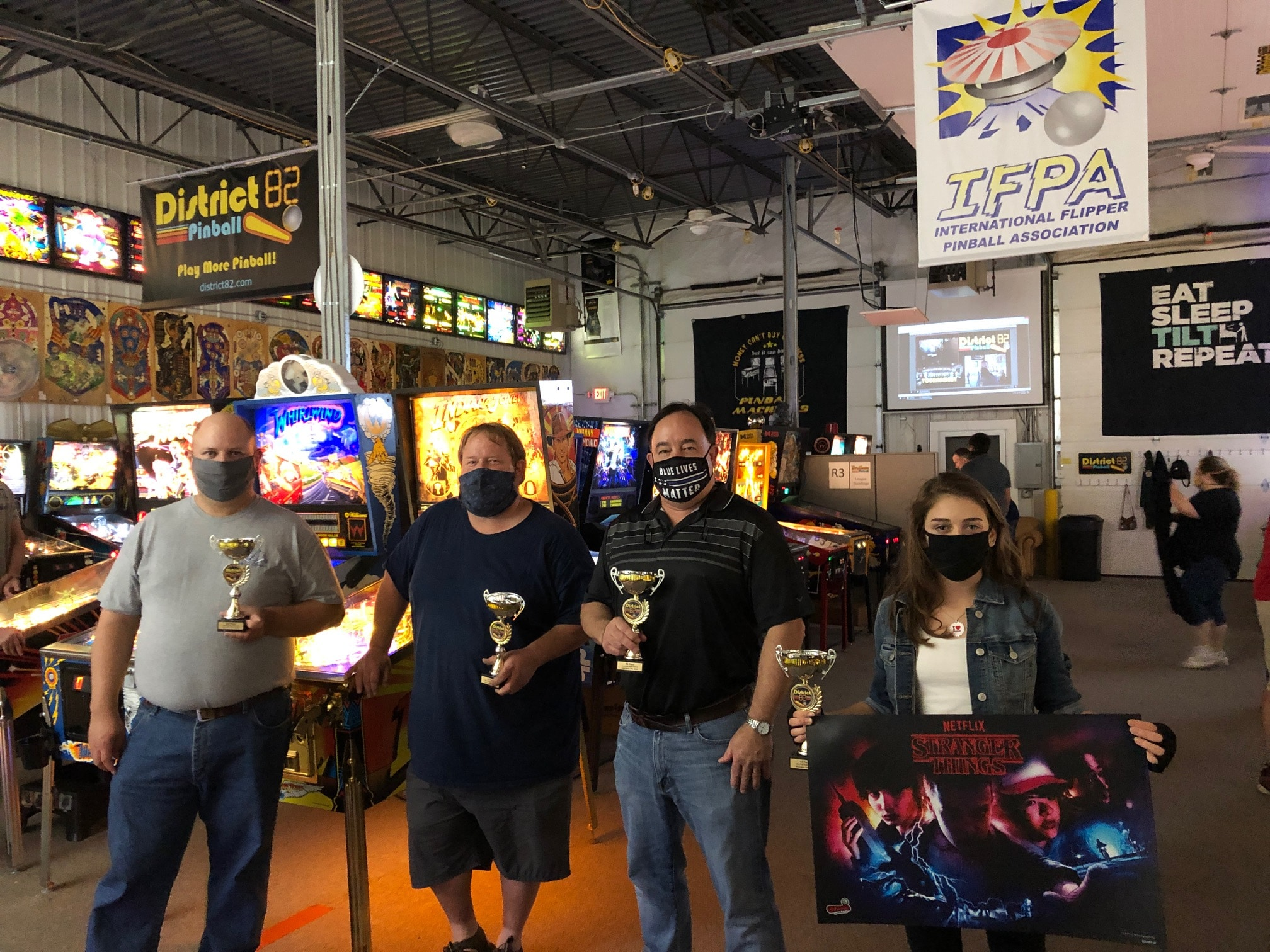 Pinball Tournament Winners Green Bay, WI