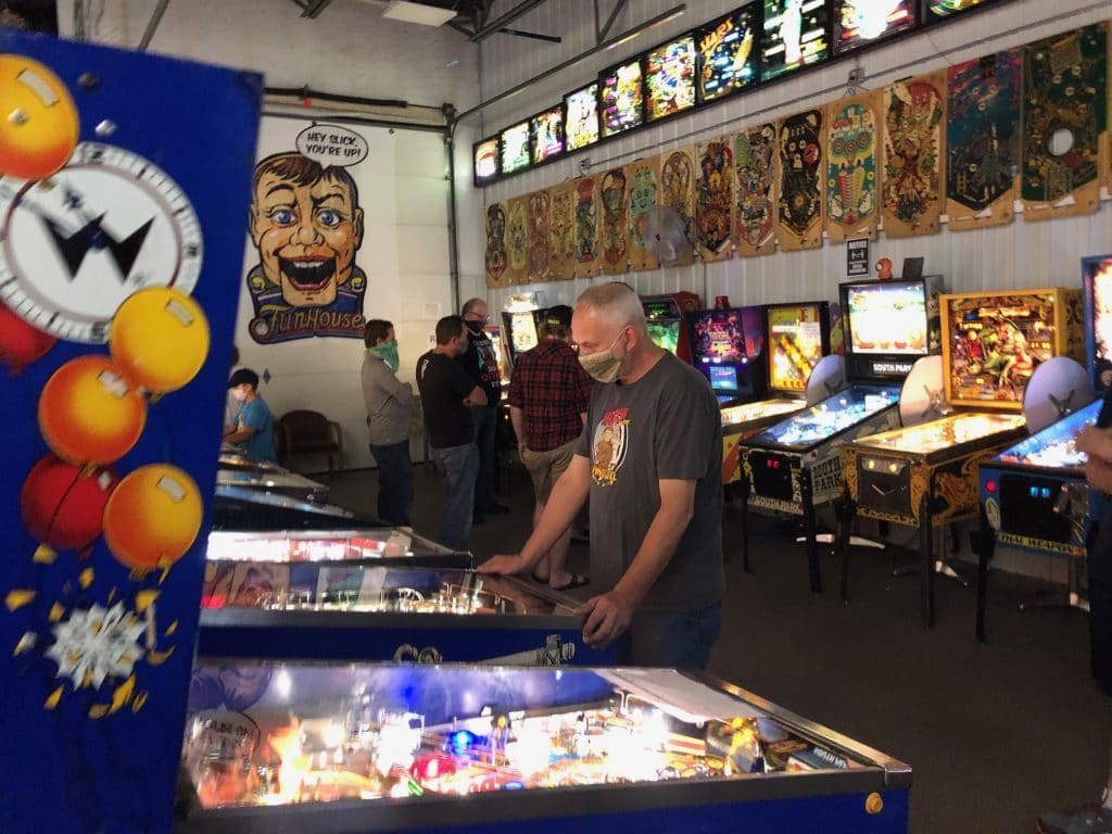 Green Bay Pinball League Picture