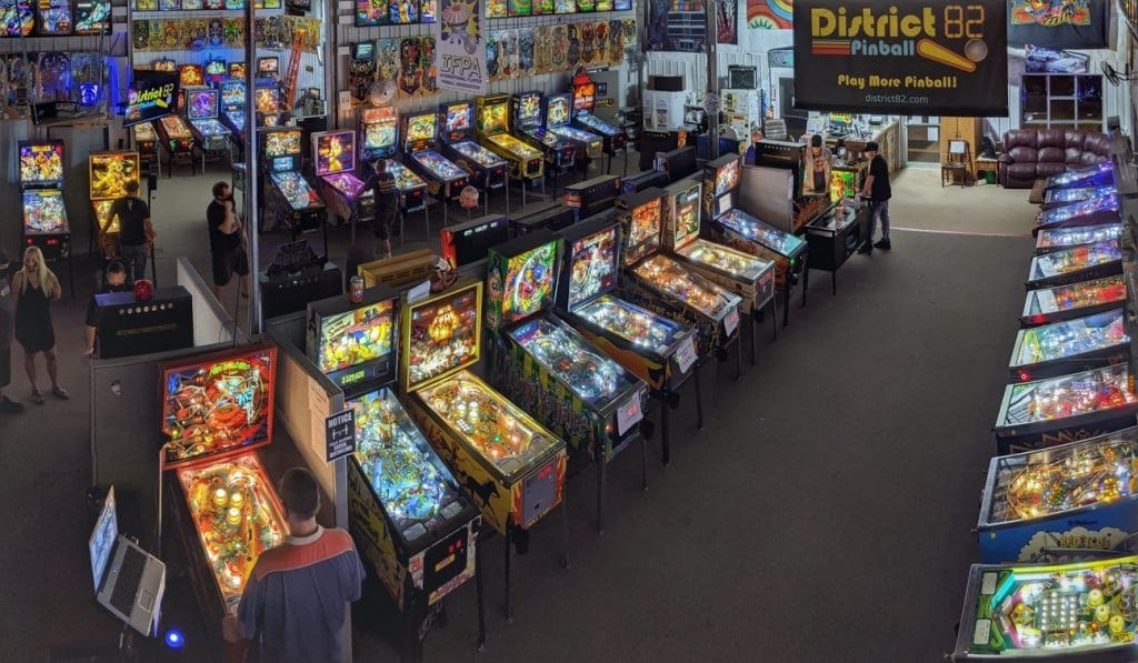 Play Pinball in Green Bay, WI