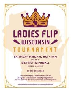 womens only pinball tournament