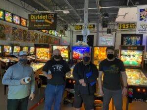 Star Trek Pinball Side Tournament Winners
