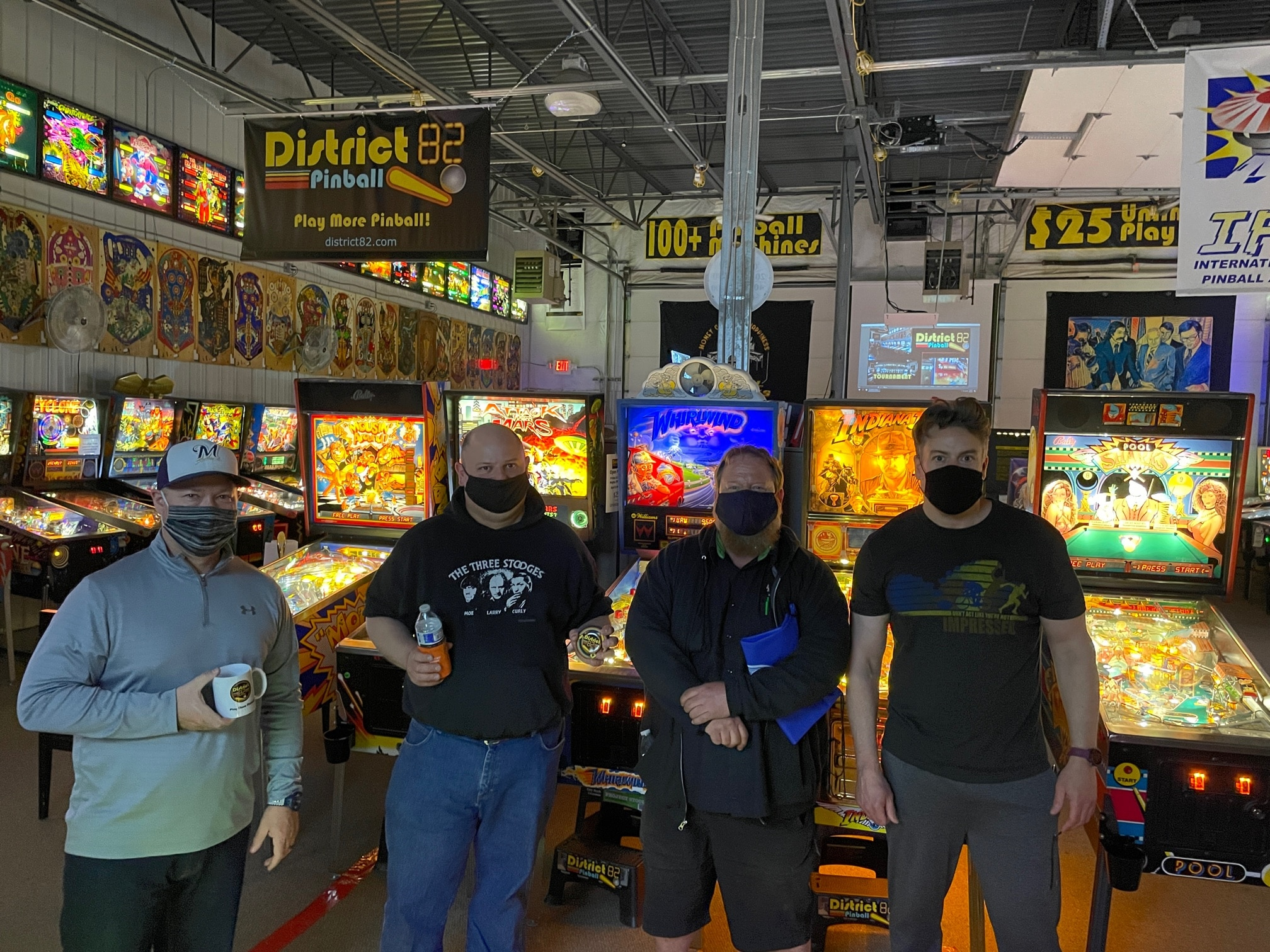 Star Trek Pinball Side Tournament Winners