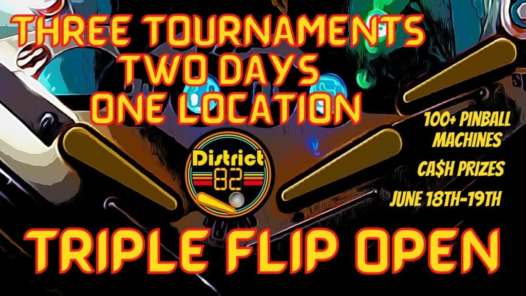 triple flip pinball tournaments
