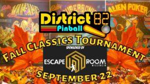 Classics Pinball Tournament