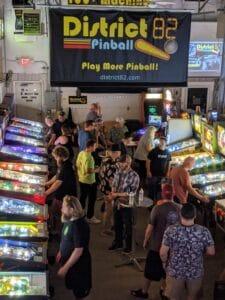 Pinball League Event Green Bay