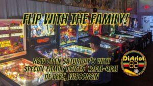 Family Pinball Arcade Kids